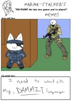 METAL CAT SOLID 4 by Scourge-Is-Awesome