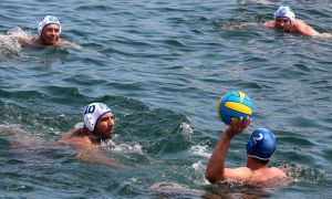 Weekend Water Polo at Watsons Bay Baths by CouchyCreature