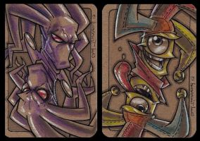The Glyph and Cyjester Cards! By Chad Townsend! by Estonius