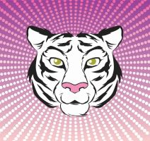 Silly Tiger - Vector by hitomi--i