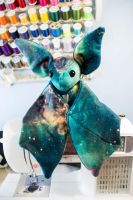 For Sale on Ebay! Solid Galaxy Bat by BeeZee-Art
