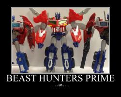 Beast Hunters Optimus Prime by Onikage108