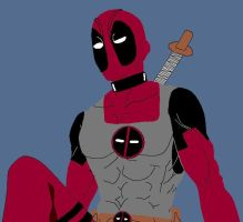 MS Paint - Deadpool Looks Good by MiserysLastWhim