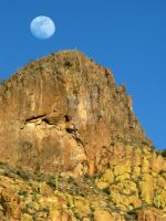 Superstitious Moonrise by mikeyroy