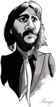 Ringo Starr by pituman