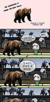 The Adventures of Kenma The Bear Youkai Episode 4 by Spaztique