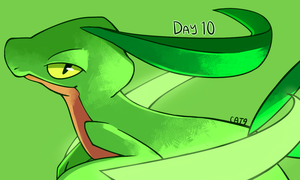 POKEDEXY DAY 10: LEAF BLADE by Nyankyuu