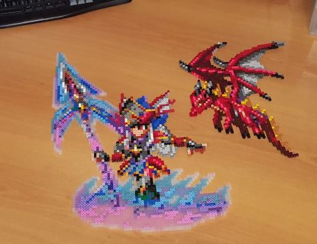 'Reberta' Perler - Final Fantasy Brave Exvius by Shada60
