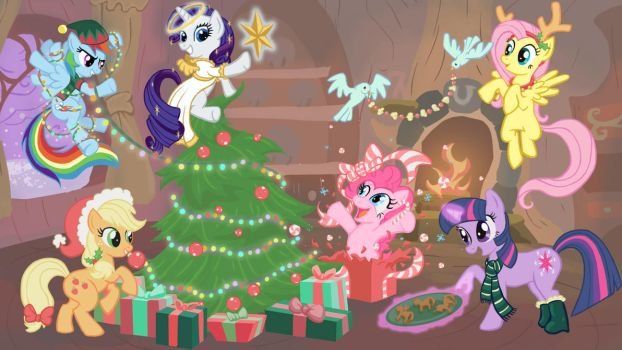 Mare-y Christmas by bladesfire