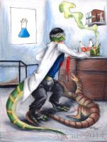 Lizard Lab by Ageaus