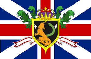 Flag of the Holy Britannian Empire (Alternate) by PumawithaPC