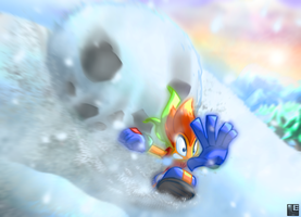Dashing Through the Snow by LE-the-Creator