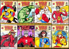 Golden Age Sketch Cards by Jayson-kretzer