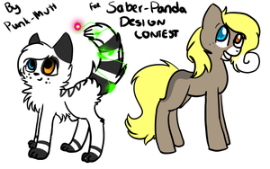 CE: DESIGNS FOR SABER-PANDA by Punk-Mutt
