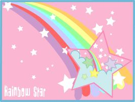 Rainbow Star by Yuyito