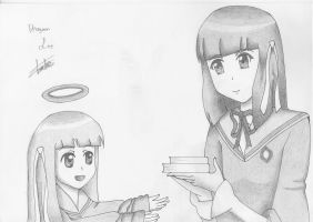 Minerva and Shiori 02 by DragoonLee