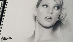 Heather Morris Drawing by Live4ArtInLA