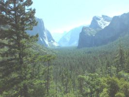 Yosemite National Park    A View Through Time by a-random-mexican