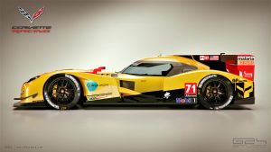Chevrolet Corvette LMP1 by KarayaOne