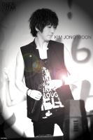 Yesung -- Black and White by cloudyanchovy