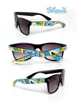 Giraffe and monsters shades by Bobsmade