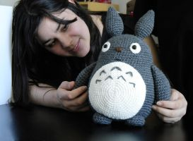 Totoro size reference pic by MarinaYeah