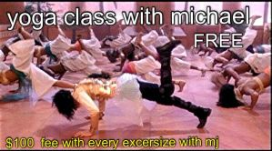 michaels yoga class ? by maxsilla