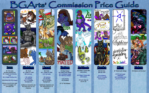 Commission Prices by BGArts