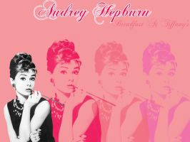 Miss Audrey Wallpaper by sugaredheart