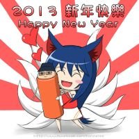 Happy New Year 2013 by tonnelee