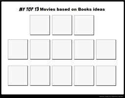 Top 13 Movies based on Books Ideas Meme by TheFoxPrince11