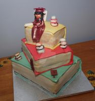 Graduation cake by reenaj