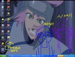 Watching Naruto The Movie by Dragon-Celtic-Chan