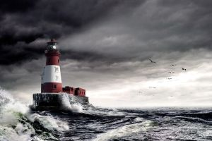 Longstone Lighthouse by hold-steady