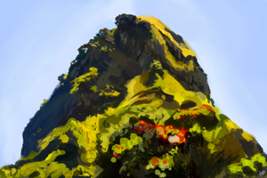 Mountain top by theBellhop