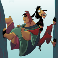 Emperor's New Groove by StevenRayBrown