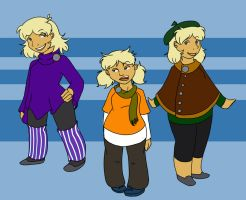 DR -  Fall Outfits by Vixiana