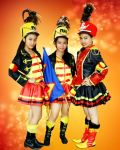 trio majorettes by theenaLuv12