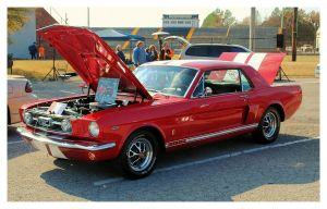 Cool Red Mustang by TheMan268