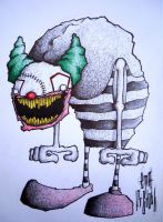 Funny Clown Joke by FREDObizarrte