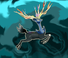 Xerneas by Glitzerland