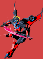 Here have a Lazy Windblade by Tyrranux