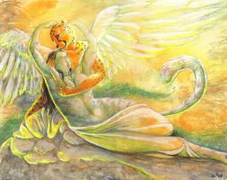 Eros and Psyche by SummerCLatimer
