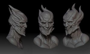 dude with horns :D by dRinVS