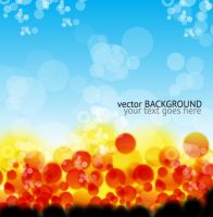 Colorful Vector Background Graphic Design by 123freevectors
