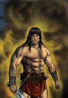 Conan the Warrior by RubusTheBarbarian