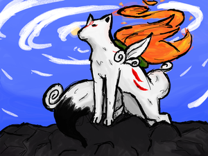 .:Okami:. by Think-of-Love