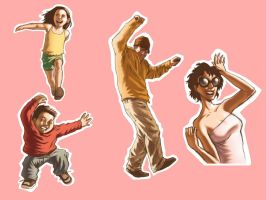 Cut-out People by iANAR