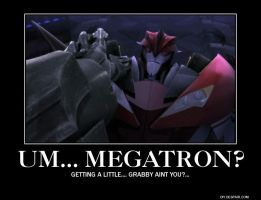 Um... Megatron? by TheLordandtheRing