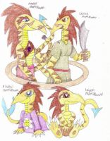 The Mortiklaww Family by Turquoisephoenix